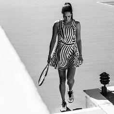 Ana Ivanovic adidas outfit