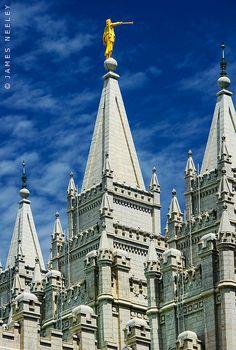 Salt Lake City Temple, Utah