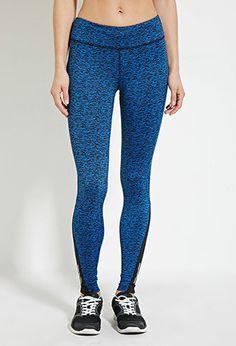 Space Dye Athletic Leggings | Forever 21 - 2000147407