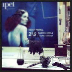 The Mipel #vfno exposition in Milan with Bruno Carlo gloves