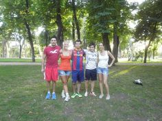 #FunAfternoonActivities - Some of the staff joined forces with students on #SpanishCourses at AIL #Madrid for a game of football in Retiro Park. http://www.ailmadrid.com/spanish-courses/en/Combination-Courses/Fun-Afternoon-Activities/8