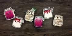 jpp - Halloween treats / Goodies / Mini TicTac / Grusel Gläser / Stampin' Up! Berlin / Jar of Haunts / Framelits Einweckgläser für alle Fälle / Mr. Funny Bones  www.janinaspaperpotpourri.de