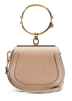 Top Handbag Trends Spring 2017 | The Metallic Detailed Bag | Chloe Nile Small Leather and Suede Crossbody, $1,375; at Matches Fashion