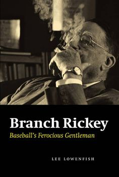 He was not much of a player and not much more of a manager, but by the time Branch Rickey (18811965) finished with baseball, he had revolutionized the sportnot just once but three times. In this defin