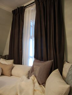 10 Window Treatment Trends : Decorating : Home & Garden Television  For our master bedroom