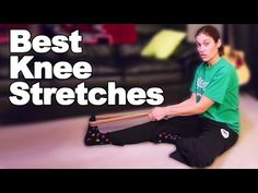 3 Best Stretches for Knee Pain - Ask Doctor Jo Stretches For Knees, Yoga For Knees, Muscle Stretches, Best Stretches, Sciatica Stretches, Knee Strengthening Exercises, Physical Therapy Exercises, Hip Workout, Running Workouts