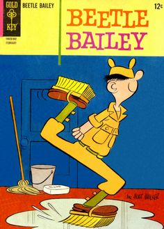 COMIC_beetle_bailey_dell_038 #comic #cover #art