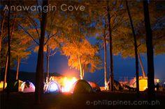 Camp Site, Anawangin Cove, Zambales Philippines