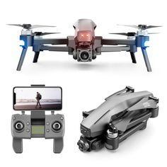 M1 Drone GPS Quadcopter With 4K Camera 2KM WIFI Live video 2KM control distance Flight 30 minutes drone with Camera Dron VS B20 Drone Rc, Drone Quadcopter, 4k Hd, Hd 1080p, Rc Drone With Camera, Engineering Plastics, Usb, Remote Control Toys