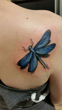 Dragonfly ❤ #tattoo #dragonfly #neidonkorento #pinktattoo