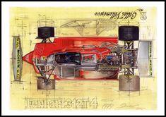 Ferrari 312 T4, 1979 Simply classic.