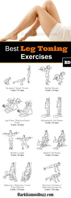 Do you want to strengthen your legs and lose fat? Then here are 7 Best Leg Workouts At Home for Women to Lose Fat and Tone Legs without Weight. Best Leg Workout, Leg Workout At Home, At Home Workouts, Fat Workout, Workout Plans, Workout Ideas, Toning Workouts, Leg Toning, Toning Exercises