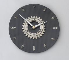 Hey, I found this really awesome Etsy listing at https://www.etsy.com/listing/122561127/large-bmw-williams-f1-gear-wall-clock