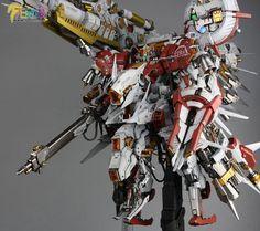 Painted Build: Mechanicore 1/100 PROJ-0033 Tiefsturmer [Deep Striker] - Gundam…