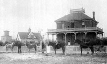 The Estudillo mansion in 1890 - San Jacinto, California San Jacinto, Southern California, Gazebo, Child Hood, Community, Outdoor Structures, Mansions, City, Image