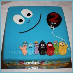 Barbapapa Cake on Cake Central Fondant Figures, Fondant Cakes, Cupcake Cakes, Cupcakes, Beautiful Cakes, Amazing Cakes, Baby Birthday, Birthday Cake, Chocolat Cake