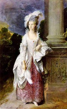 thomas gainsborough portrait of the lady graham