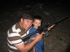 a little scary because of the gun...but look how young sontard was oh my gosh!