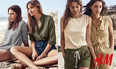 Czekasz na lato? Przywitaj je w dobrym stylu! Nowa, letnia kolekcja w H&M to zwiewne sukienki w stylu boho, szorty, topy i bikini. Dobierz odpowiednie dodatki i przygotuj się na wyjątkowe lato! Kolekcja dostępna w sprzedaży od 30 kwietnia.