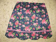 scallop skirt tutorial