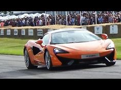 ▶ McLaren 570s Flyby Sound & 650S Le Mans - Goodwood Festival of Speed 2015 - YouTube