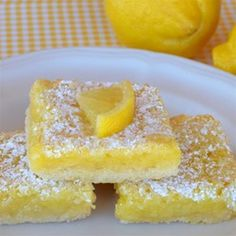 "The Best Lemon Bars | ""Tart, rich and perfection, all rolled into one! Wow your friends with this simple recipe."""