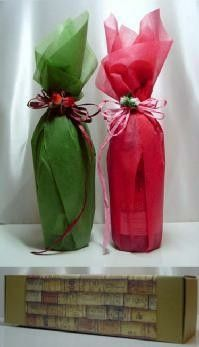 Wine Bottle Gift, Wine Bottle Crafts, Creative Gift Wrapping, Creative Gifts, Wrapped Wine Bottles, Decorated Gift Bags, Wine Bottle Centerpieces, Gift Wraping, Christmas Gifts