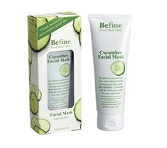Befine Cucumber Facial Mask, BRAND NEW, from June 2015 Ipsy bag
