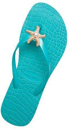 #turquoise flip flops
