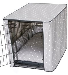 Diy dog crate cover people Ideas for 2019 Puppy Crate, Diy Dog Crate, Large Dog Crate, Dog Crate Mats, Crate Bed, Dog Crate Cover, Dog Kennel Cover, Dog Cages, Dog Rooms