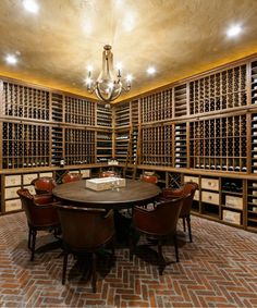 Wine Cellar Racks, Wine Rack, Door Bar, Tasting Table, Drink Table, Drinking, Design Ideas, Furniture, Home Decor