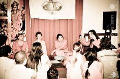 Satsanga in Mar del Plata, Argentina, with Swamini Shakti Ma, Swamini Parvatiananda, Swamini Dayananda, Umma and Macarena, december 2015.