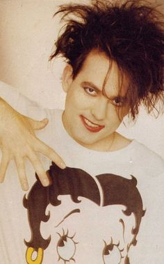 Robert Smith...love me some cure!!!!  the only man on earth who could look this good in make up! if only he would share some of that lipstick with me!!