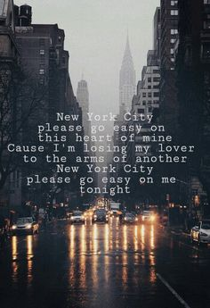 New York City - The Chainsmokers.  I fell in love with this song from the moment I heard it for the first time. ❤