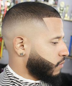Very Short Line Up Haircut