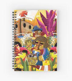 Vai estudar, menino!!! Caderno Ilustrado Alegraziani.