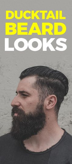 Growing a Ducktail beard is not easy for all, but simple for few. Here are 6 Reasons Why you Should Opt for Ducktail Beard Look. Thick Beard, Mens Facial, Beard Look, Beard Styles For Men, Latest Mens Fashion, Men's Fashion, Beard Growth, Beard Gang, Beard No Mustache