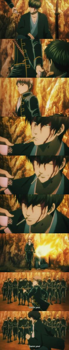 """I thought this was supposed to be a """"touchy"""" Sougo-Hijikata, moment. But I was p… – Gintama Anime Life, All Anime, Anime Manga, Anime Art, Gintama Funny, Okikagu, Awesome Anime, Anime Characters, Troll"""