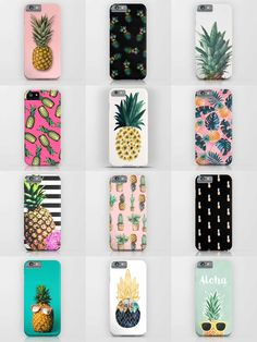 Society6 Pineapple Phone Cases - Society6 is home to hundreds of thousands of artists from around the globe, uploading and selling their original works as 30+ premium consumer goods from Art Prints to Throw Blankets. They create, we produce and fulfill, and every purchase pays an artist.