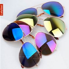 Online Shop Free Shipping 2014 Sale Brand Designer Blue Mirrored Sunglasses Men Silver Mirror Vintage Sunglasses Women Glasses Hot|Aliexpress Mobile