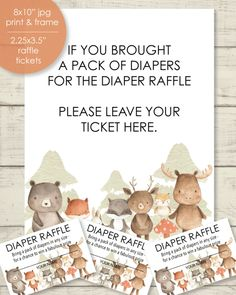 diaper raffle tickets for a baby shower Baby Shower Games Unique, Cute Baby Shower Ideas, Baby Shower Prizes, Baby Shower Menu, Baby Shower Signs, Baby Shower Diapers, Baby Shower Invitations, Free Baby Shower Printables, Baby Shower Activities