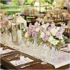 short wedding centerpieces round | Wedding Centerpiece Inspiration For Every Couple - Weddbook