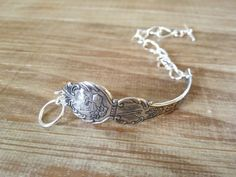 Nevada State Silver Souvenir Spoon Bracelet on by GeorginaBaker, $36.00