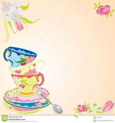 Tea Party Invitations Templates Free Suyhi Margarethaydon Com