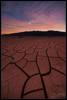 Our Playa - There a couple scenes that Death Valley is known for: beautiful salt flats, rolling Sand Dunes, and plays filled with mud-cracks. On this particular trip in November 2016, Willie and I managed to photograph all 3 of these, and perhaps a little bit more.   On this particular evening we hiked out to a playa filled with mud-cracks and ran around like giddy school-boys as we found amazing pattern after amazing pattern. We left clothing in various locations to mark our favorite spots…