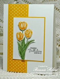 Birthday Card Ideas : ink stamp with markers, then blend with aqua painter. Happy Birthday Cards Handmade, Greeting Cards Handmade, Ink Stamps, Copics, Card Tags, Flower Cards, Homemade Cards, Stampin Up Cards, Making Ideas