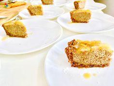 Postres: Tarta #franchipán de pera con base de almendras, para degustación en clase 9 www.conscienciaviva.com