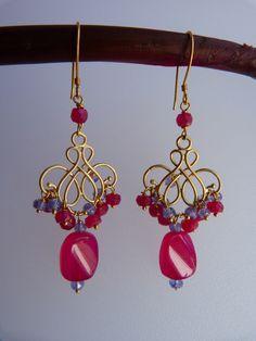 pink ruby and tanzanite