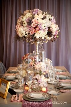 12 Stunning Wedding Centerpieces - 28th Edition - Belle The Magazine