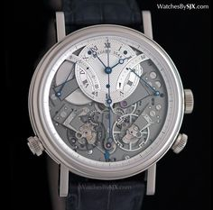 Watches by SJX: Explaining The Breguet Tradition Chronographe Indé...